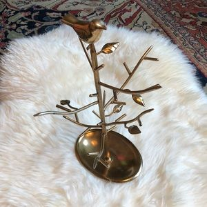 Urban Outfitters Gold / Brass Jewelry Tree